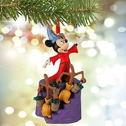 Disney Sorcerer Mickey Mouse Sketchbook Ornament - Fantasia 75TH Anniversary