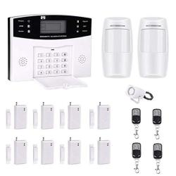 AG-security Wireless&wired GSM Sms Home Burglar Security Fire Alarm System With Panic Button Sos Button