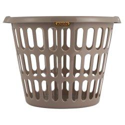 Addis - Round Laundry Basket Latte