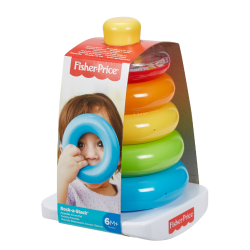 Fisher-Price Rock-a-stack Classic Infant Stacking Ring Toy