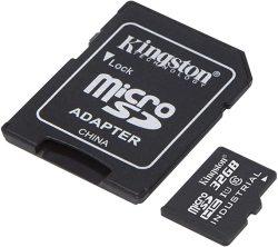 Industrial Grade Kingston 32GB Apple Ipad MINI 2019 Microsdhc Card Verified By Sanflash. 90MBS Works For Kingston