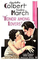 Honor Among Lovers From Left On Us Poster Art: Claudette Colbert Fredric March 1931 Movie Poster Masterprint 11 X 17