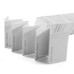 Pac Supplies Usa 10 Pcs White 125KHZ 1.9MM Rfid Access Proximity Card - Trademark Product
