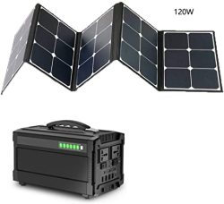 Solar Generator 250W 240WH Ups Portable Power Station Backup Power Supply Charged By ac Outlet car For Home Camping Emergency Battery