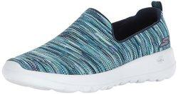 Skechers Performance Women's Go Walk JOY-15615 Sneaker Navy multi 10 M Us
