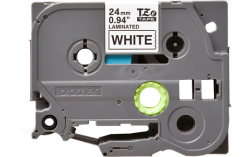Brother P-touch TZE-251 Labelling Tape Black On White 24MM Wide - Compatible With Tz And Tze
