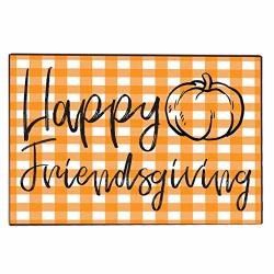 Victorystore Home Accessories: Friendsgiving Door Mat 24 Inches X 36 Inches Happy Friendsgiving