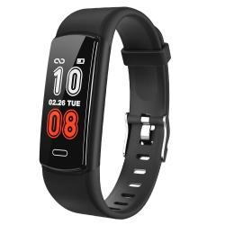 Y29 0.96 Inch Tft Color Screen Smart Watch IP68 Waterproof Support Call Reminder heart Rate Monitoring blood Pressure Monitoring sleep Monitoring sedentary Reminder Black
