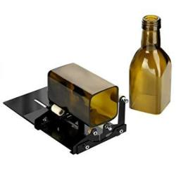 Glass Bottle Cutter Fixm Square & Round Bottle Cutting Machine Wine Bottles And Beer Bottles Cutter Tool With Accessories Tool K