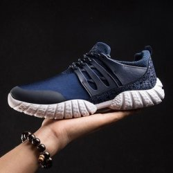 f5d3f8e62171 Men Running Breathable Sport Shoes Casual Athletic Sneakers Shoes : 6.5  Color: Blue   R756.64   Sneakers   PriceCheck SA