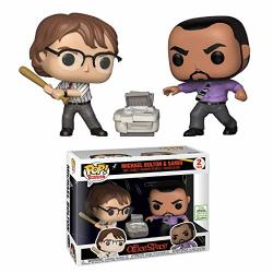 Funko Pop Movies: Office Space 2-PACK Michael Bolton & Samir Limited Edition Exclusive 2019 Spring Convention