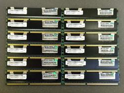64GB 16X4GB Hp Memory 500203-061 For Proliant Server BL280 BL460 DL160 ML150