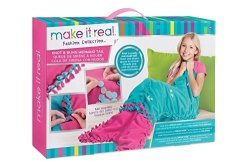 Make It Real Knot And Bling Mermaid Tail Blanket Craft For Kids