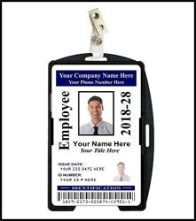 Innovative ID Cards Company Corporate Id Card - Custom With Your Photo And Information