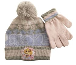 Paw Patrol 'girls' Premium Beanie & Gloves Set