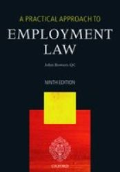 A Practical Approach To Employment Law Paperback 9th Revised Edition