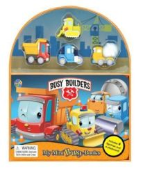 Busy Builders Novelty Book