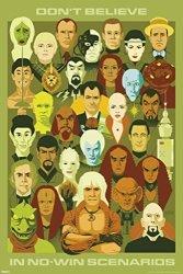 Pyramid America Star Trek Dont Believe In No Win Scenarios 50TH Anniversary Tv Poster 24X36 Inch