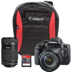 Canon Cameras Canon Eos 750D Dslr Camera Reach Bundle   R   Digital Cameras    PriceCheck SA
