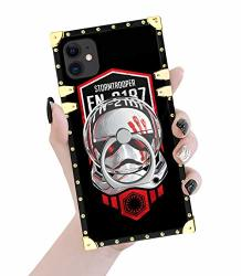 Compatible For Iphone 11 Case Bling-bling Square Plastic Protective Iphone 11 Cover Anti - Scratch Shockproof Tpu Cover For Iphone 11 6.1 Inch - Star Wars