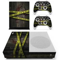 SKIN-NIT Decal Skin For Xbox One S: Crime Scene