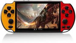 USA Wudidianzi 5.1 Inch Handheld Game Video Game Console 8GB Portable Console MP4 Player