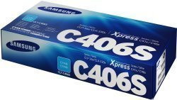 Samsung Original C406S Cyan Toner Cartridge