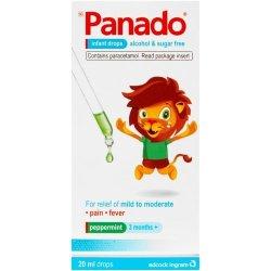 Panado Infant Drops Peppermint 20ml