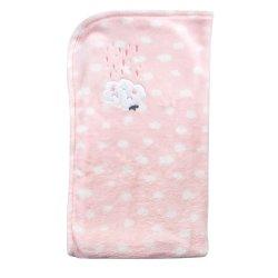 LITTLE ONE - Mink Applique Blanket
