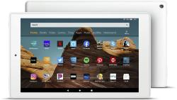 """Amazon Fire HD 10 Tablet 10.1"""" 1080P Full HD Display 32GB White 9TH Generation 2019 Release"""
