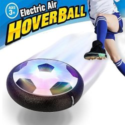 Magneticspace Hover Ball Toys For Kids Hover Soccer Football With Powerful LED Light And Foam Bumpers For Indoor Games Air Power