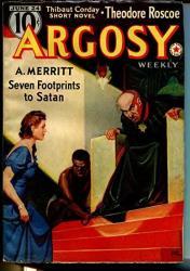 Argosy 6 24 1939-RUDOLPH Belarski-african American Man-a. Merritt-vf