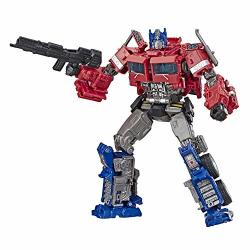 Transformers Toys Studio Series 38 Voyager Class Bumblebee Movie Optimus Prime Action Figure - Ages 8 And Up 6.5-INCH