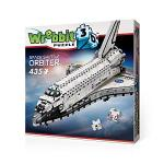 WREBBIT 3D Space Shuttle Orbiter 3D Jigsaw Puzzle 435-PIECE