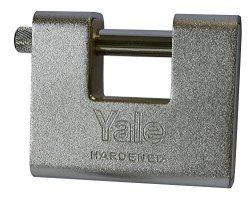 Yale 1610080 Armoured Padlock