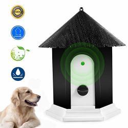 Meter.llc Anti Barking Device Ultrasonic Dog Bark Controller Waterproof Outdoor Anti Bark Control System In Birdhouse Shape Bird