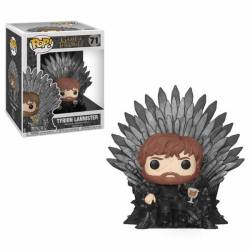 Funko Pop Deluxe - Game Of Thrones - Tyrion Lannister Sitting On Iron Throne