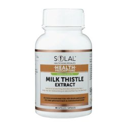 Solal Milk Thistle Extract 90 Capsules