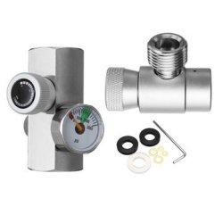 Soda Stream Cylinder Adapter Converter to W21.8 Aquarium Fish or Homebrew WCHY