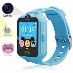 Hsx_z Phone Watch For Kids Smart Watch For Kids With Digital Camera Touch Screen Phone Game Cool Toys Watch Gifts For Girls Boys Children