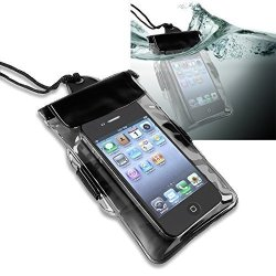 Everydaysource Premium Waterproof Bag Case Lanyard Compatible With Apple Ipod Nano 7 7TH Generation - Black