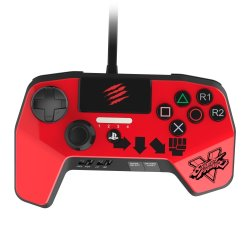SparkFox PS3 PS4 Madcatz Controller in Red