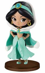 Banpresto - Figurine Disney - Jasmine Winter Costume Q Posket Characters Petit 7CM - 3296580824588