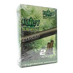 Juicy Jay's Hemp Wraps Natural Flavor Pack Of 25
