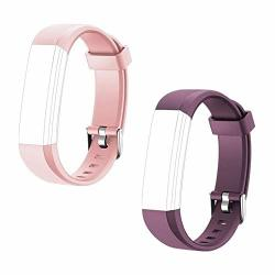 Toobur Replacement Bands Adjustable Replacement Strap ID115U&ID115U Hr Smart Wristbands