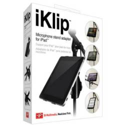 IK Multimedia iKlip Universal Microphone Stand Adaptor for Apple iPad