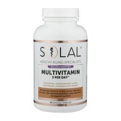 Solal Multivitamin 3 Per Day 90 Caps