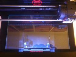 MakerBot Pro Series: Replicator? 2 Glass Build Pl
