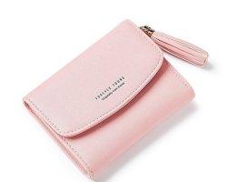 Weichen Women's Wallet Card Holder Tassel Clutch Purse