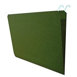 Find It Hanging File Folders With Innovative Top Rail 9 Pt. Stock. Legal Size 11 X 14 Green 20 Per Pack FT07043